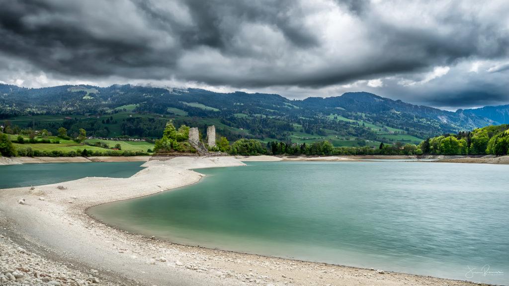 Ile d'Ogoz (Canton de Fribourg - Suisse)