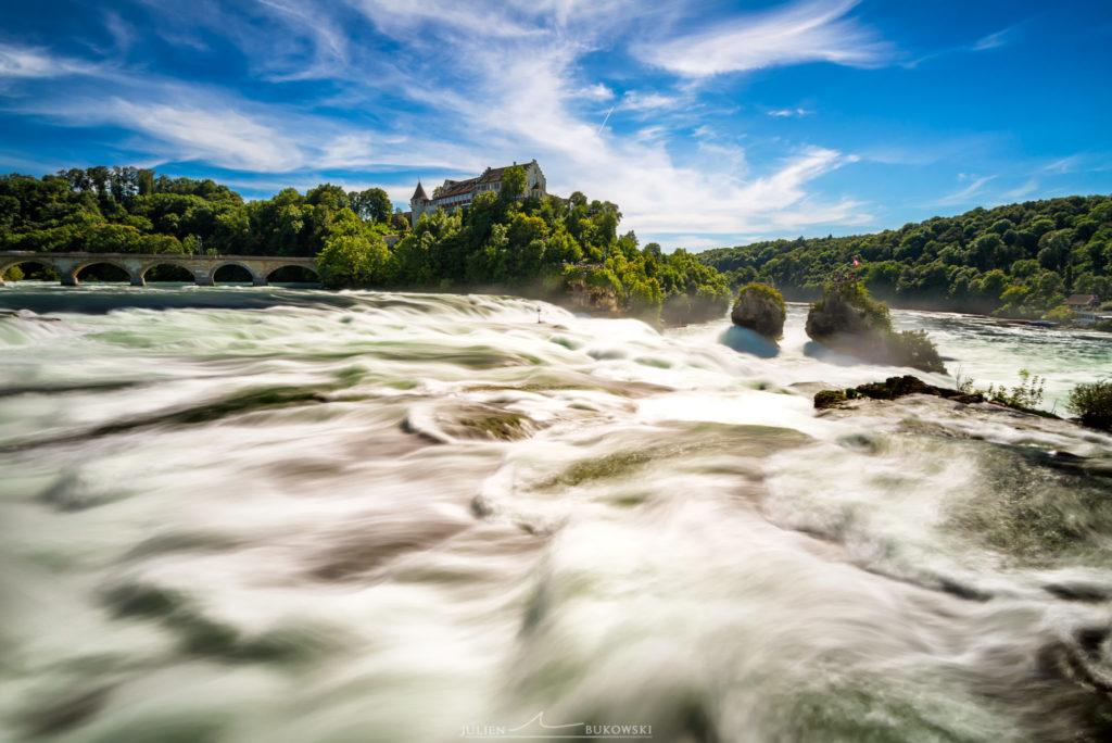 Les chutes du Rhin (Suisse)