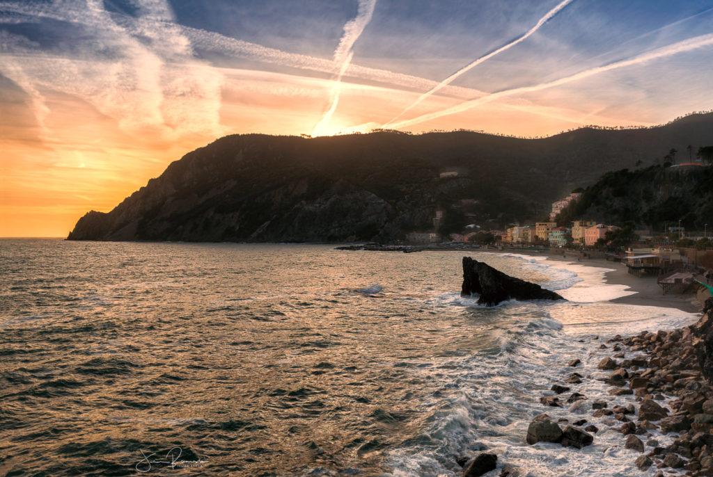 Monterosso en fin de journée (Cinque Terre - Italie)