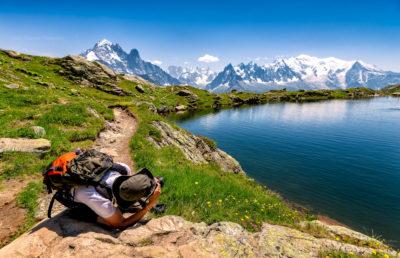 Photo sur le Mont Blanc (France)