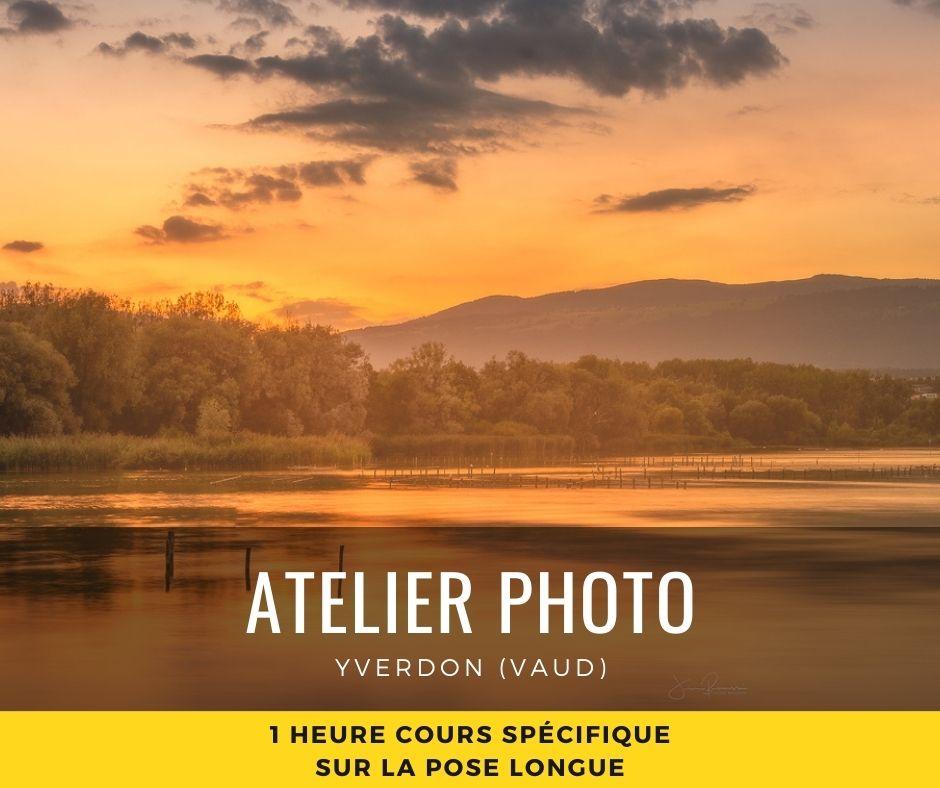 Atelier Photo Yverdon Cours pose Longue 1H