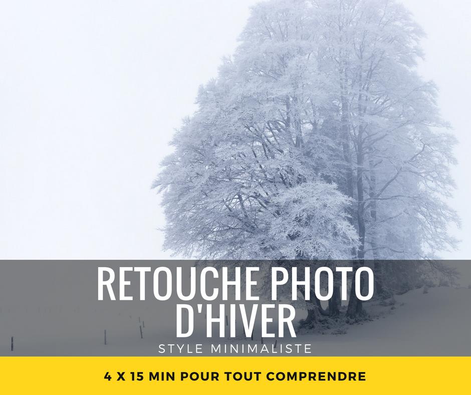 Cours retouche photo d'hiver