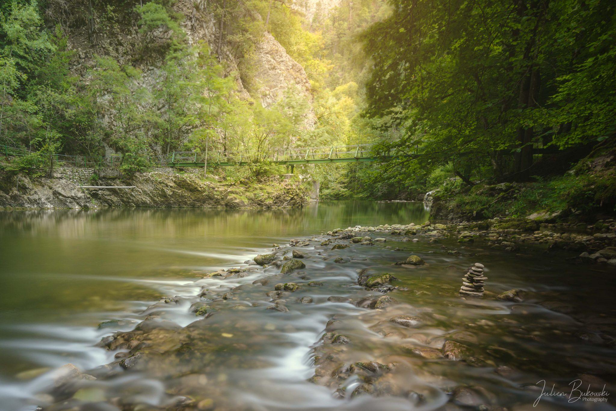 La croisée des chemins (Gorges de l'Areuse - Suisse)