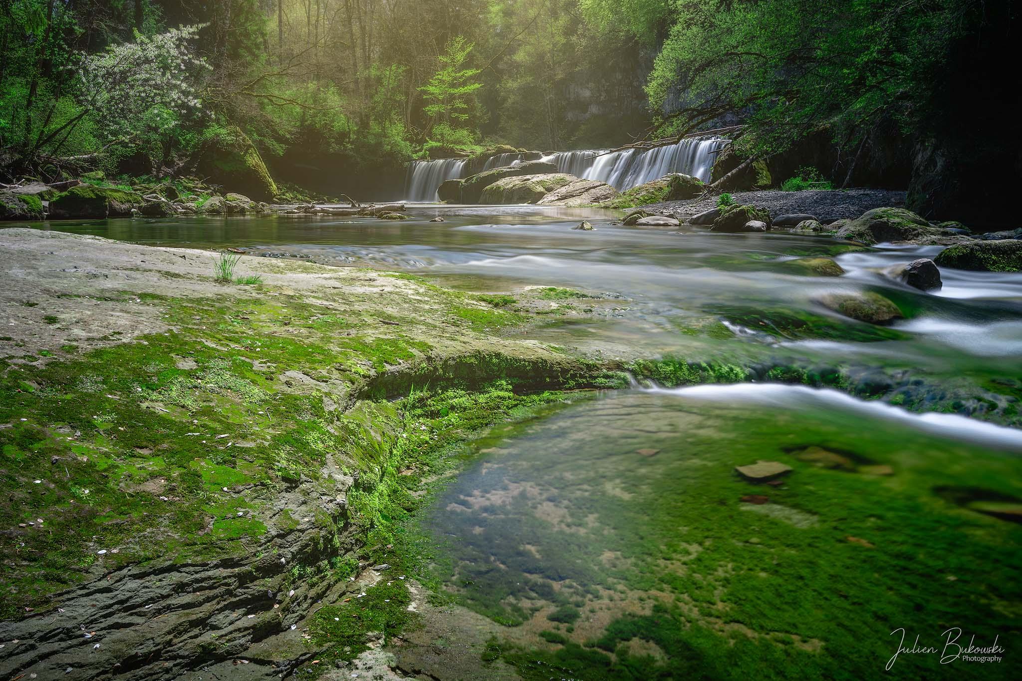 Green peace (Chutes des Chavanettes - Suisse)