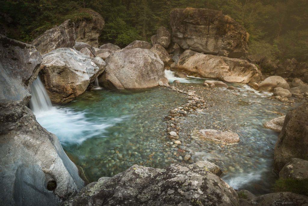 Val Bavona river (Tessin - Suisse)
