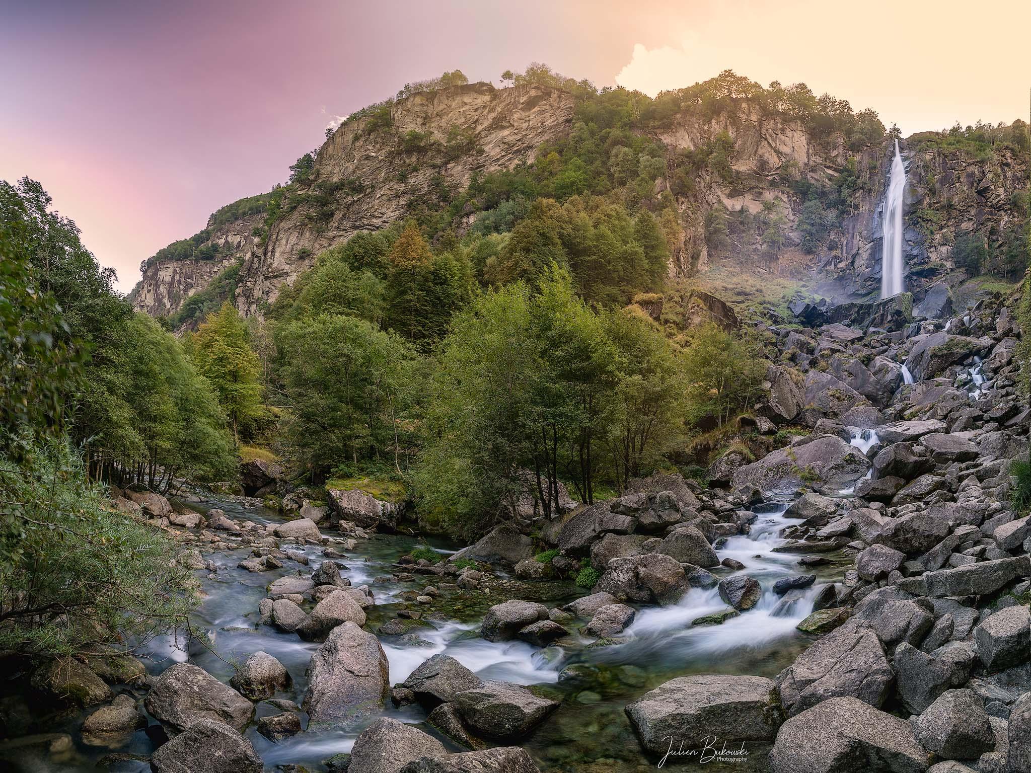 Foroglio Waterfall (Tessin - Suisse)