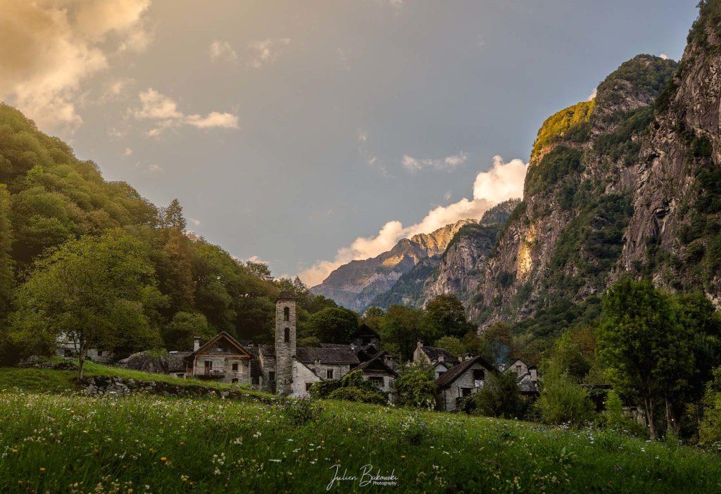 Foroglio Sunset (Tessin - Suisse)