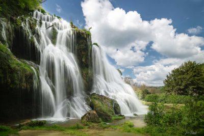 Cascade des tufs (Baume les Messieurs - France)