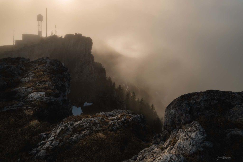 Chasseron embrumé (Suisse)