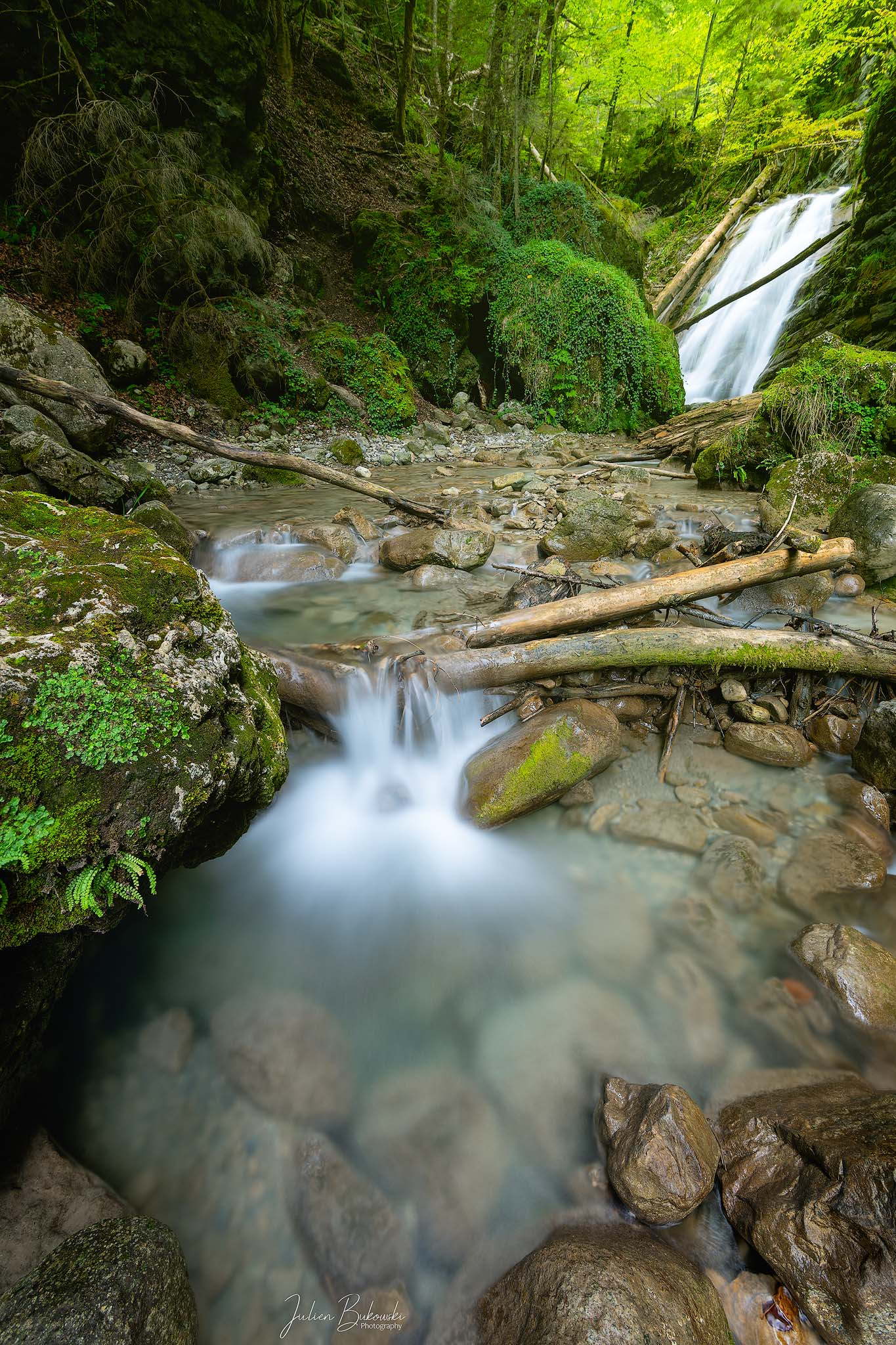 Gorges du Chauderon (Suisse)