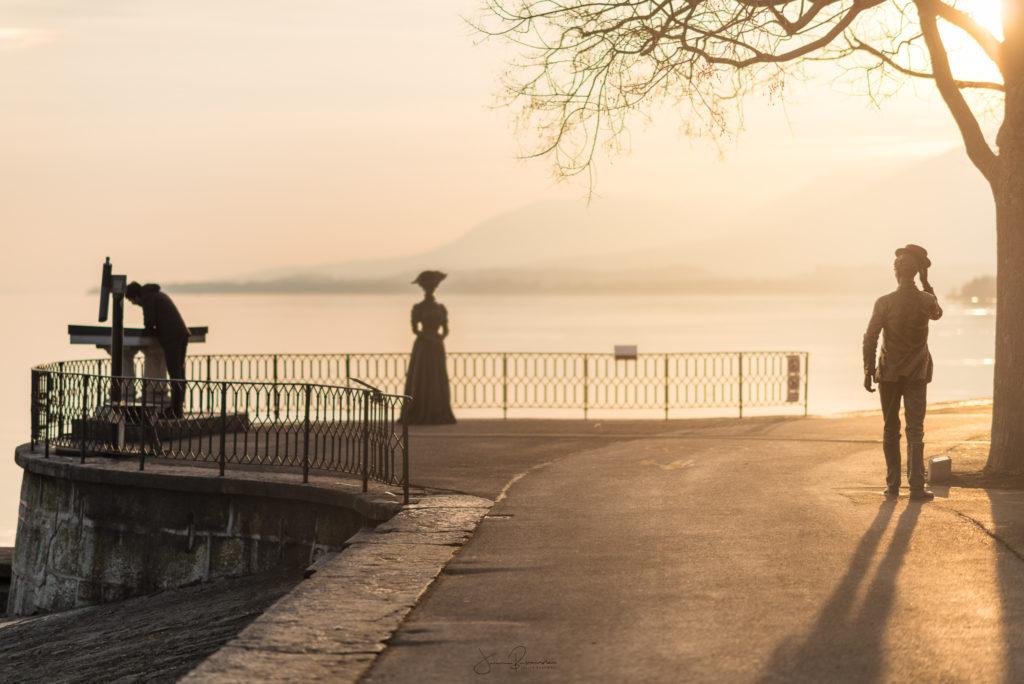 Au bord du lac de Neuchatel (Suisse)