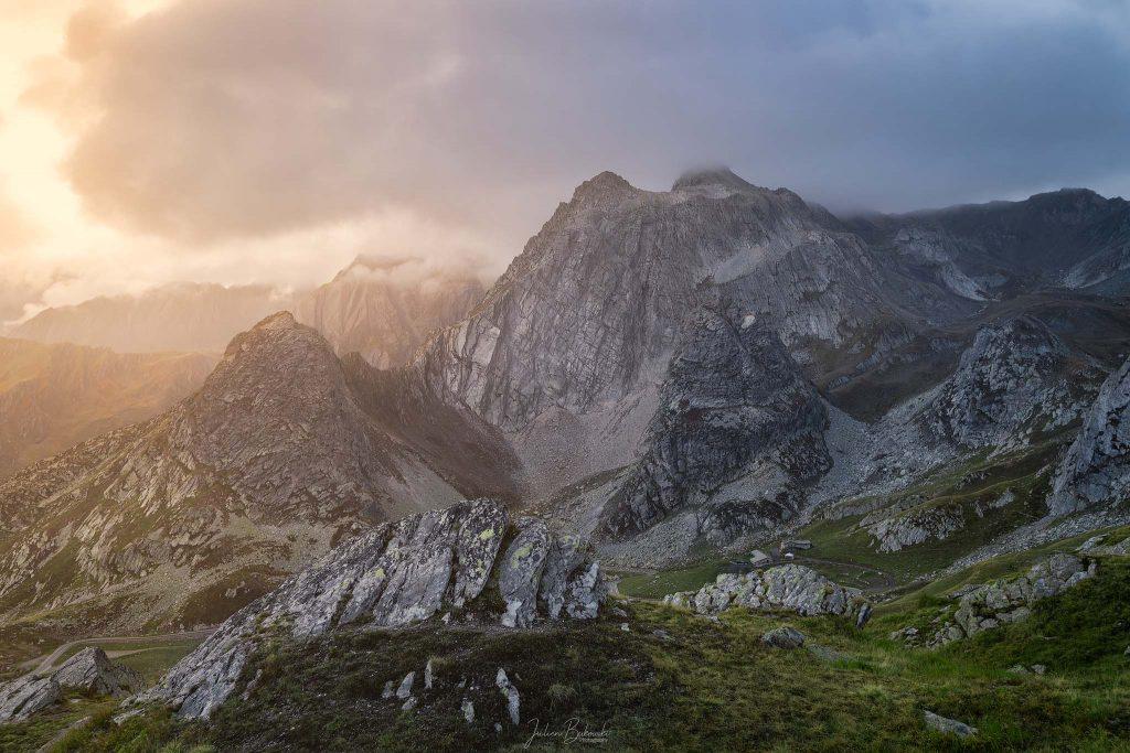 Special light (Col du Grand Saint Bernard - Suisse - Italie)