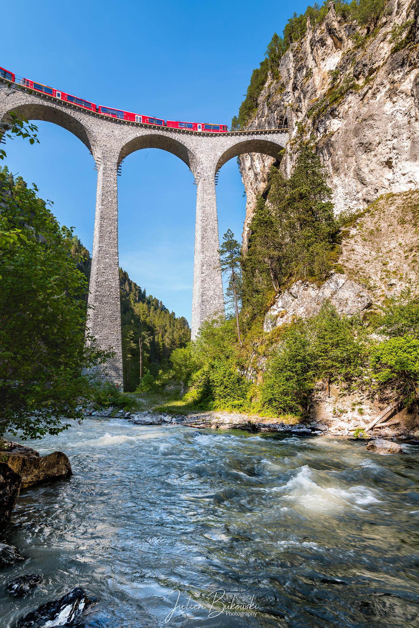 Le train des Grisons (Grisons - Suisse)