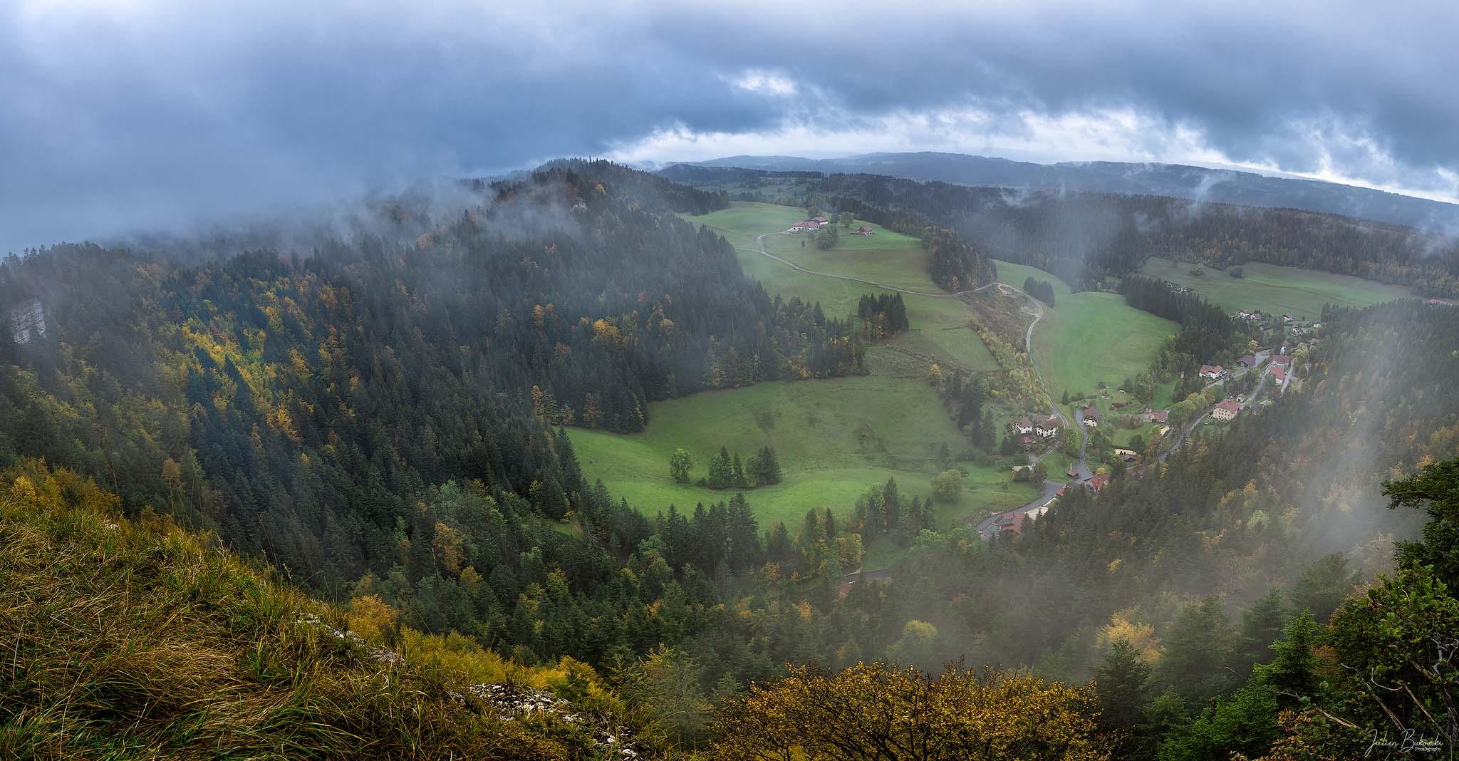 Derrière le Mont (Morteau - France)