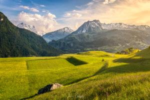 Sublime vallée des Grisons (Grisons - Suisse)