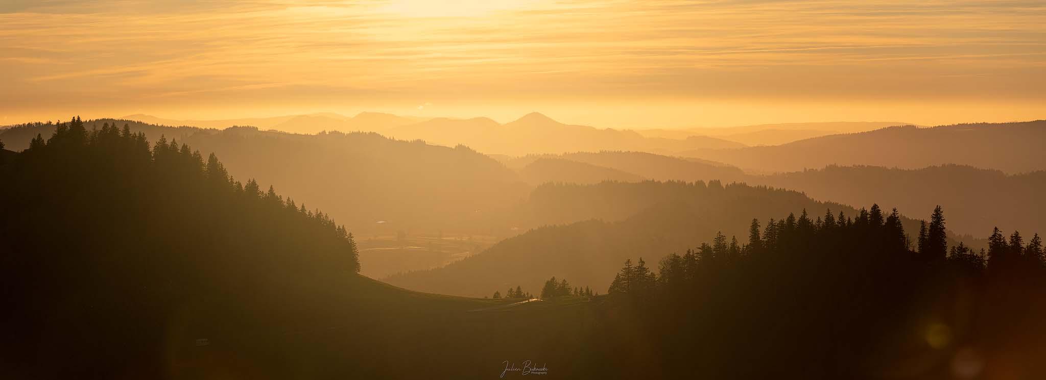 The Golden Light (Canton de Neuchâtel - Suisse)