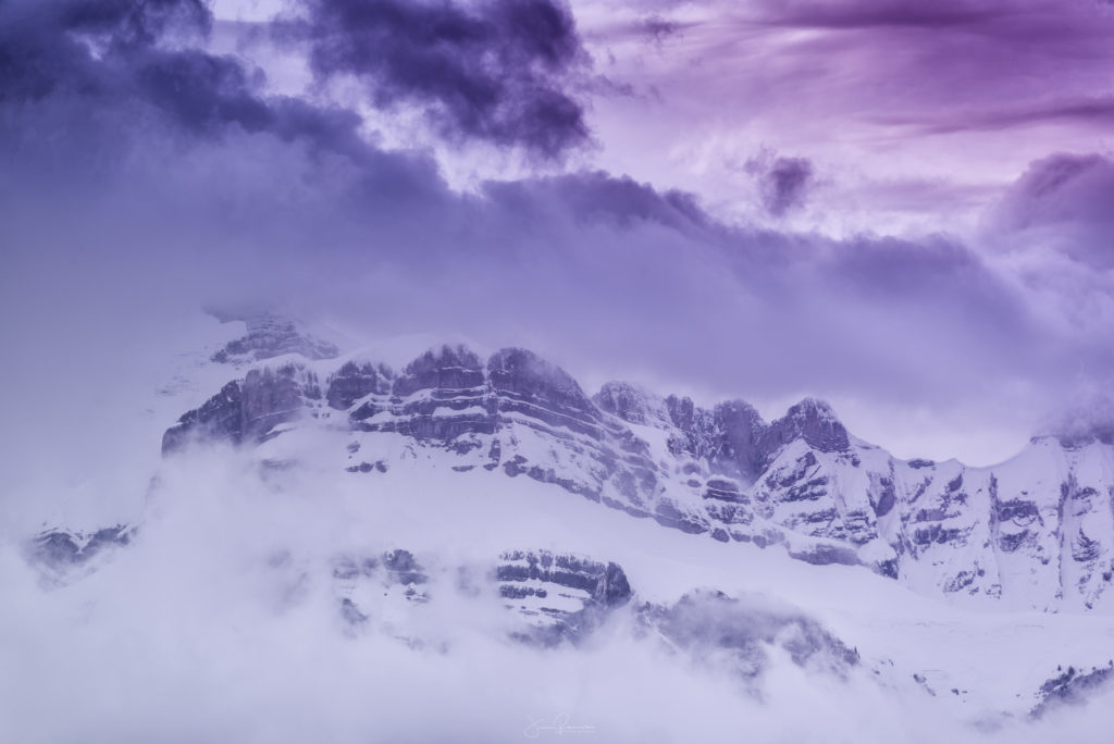Purple Mountains (Alpes Francaises - France)