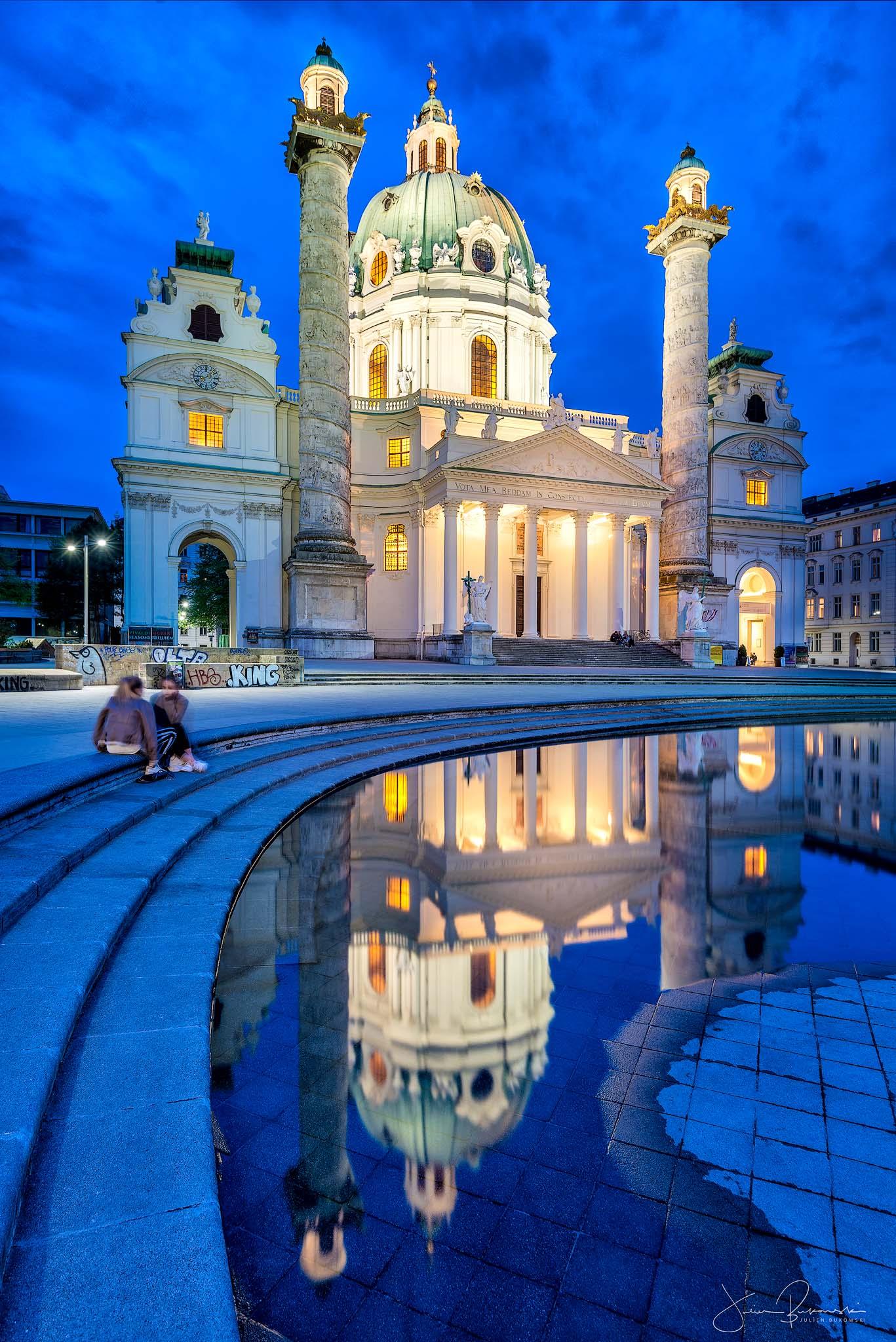 Karlskirche (Vienne - Autriche)
