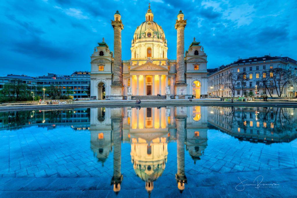 Karlskirche Vienne (Autriche)