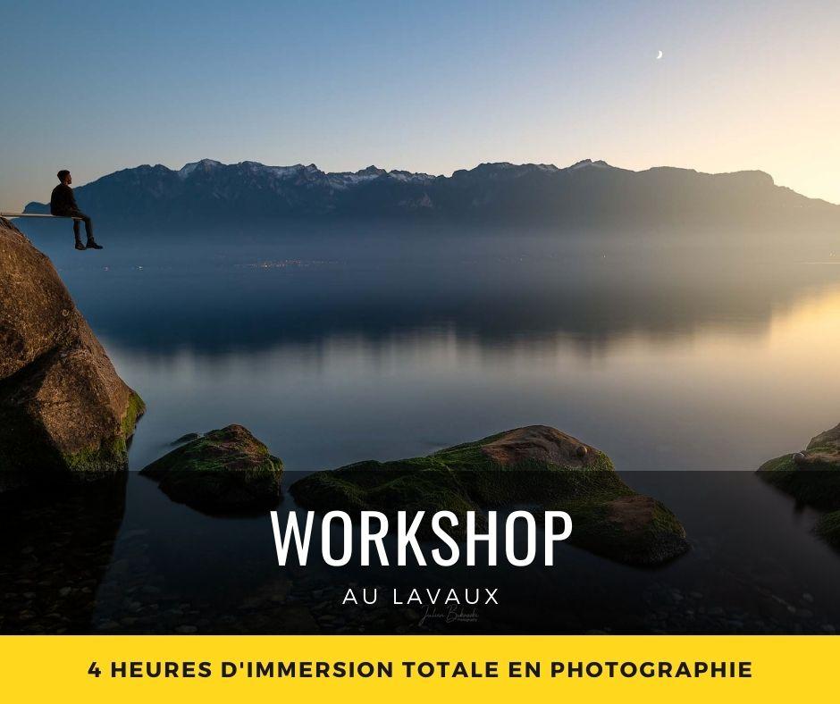 Workshop photo au Lavaux