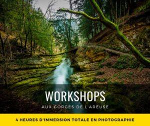 Workshop aux Gorges de l'Areuse