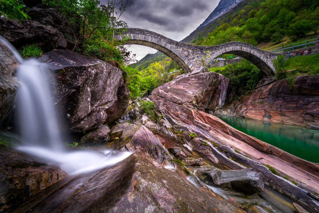 Ponte dei salti (Val Verzasca – Tessin – Suisse)